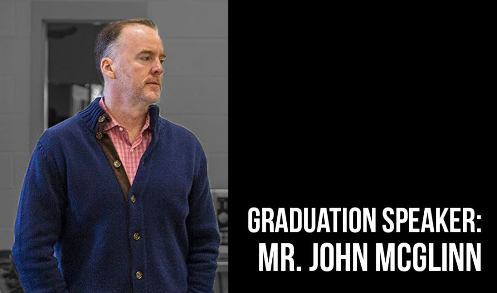 John McGlinn, P '14, '16, '18 to give 2018 graduation speech